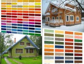 Цвета фасадов домов: подбор и сочетание цветовой гаммы, красный