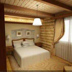 Дизайн в прихожей в деревянном доме - Дизайн деревянного дома