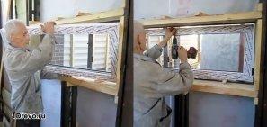 Как установить пластиковые окна и дверь в деревянном доме
