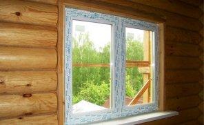 Монтаж оконных блоков из пвх в деревянном доме по ГОСТу