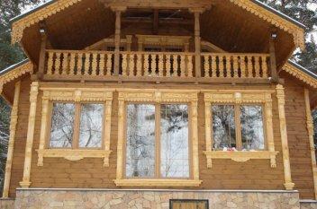 Наличники на окна в деревянном доме: купить в Перми