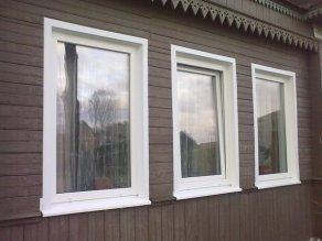 Наружные откосы из металла - Окна и Двери
