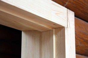 Окосячка в брусовом доме: инструкция по изготовлению своими руками