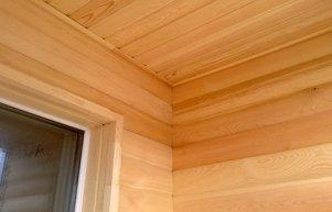 Отделка пластиковых окон в деревянном доме: наружная, внутренняя