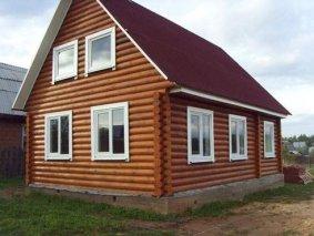 Пластиковые окна ПВХ для деревянного дома в Курске