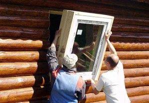 стеклопакетов в деревянном доме своими руками