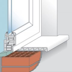 Установка подоконника в деревянном доме, основные сложности работы