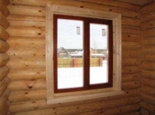 внутренняя отделка окон пвх в деревянном доме видео ~ Сайт самоучек