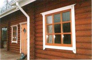 Заказать качественные окна в деревянный дом в компании Рета