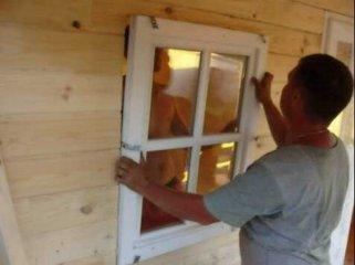 Замена окна в старом деревянном доме своими руками видео — Dorel.ru